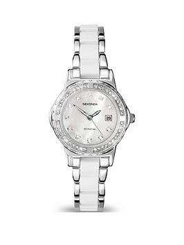 sekonda-moonlight-white-ceramic-centre-links-chrome-bracelet-ladies-watch