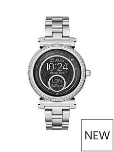 michael-kors-michael-kors-stainless-steel-bracelet-with-pave-bezel-touchscreen-ladies-smartwatch
