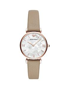 emporio-armani-mother-of-pearl-dial-brown-leather-strap-ladies-watch