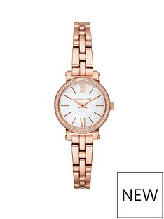 michael-kors-michael-kors-rose-gold-tone-case-and-bracelet-mother-of-pearl-dial-with-pave-bezel-ladies-watch