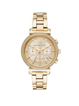 michael-kors-mk6559nbspsofie-gold-tone-case-and-bracelet-sunray-dial-ladies-watch