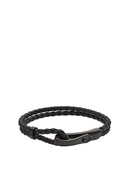 emporio-armani-emporio-armani-black-double-braided-cord-mens-bracelet