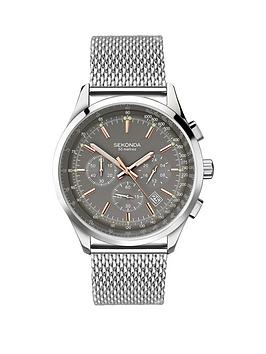 sekonda-sekonda-gents-chronograph-stainless-steel-bracelet-watch