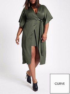 ri-plus-waisted-midi-dress-khaki