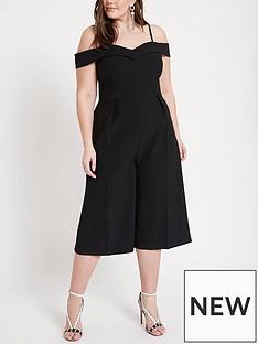 ri-plus-cropped-wide-leg-jumpsuit-black