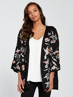 river-island-bird-print-kimono--black