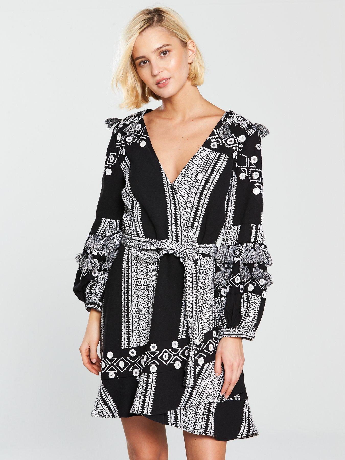 Karen millen black lace dress ebay