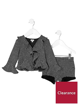 river-island-mini-girls-black-frill-jacquard-jacket-outfit
