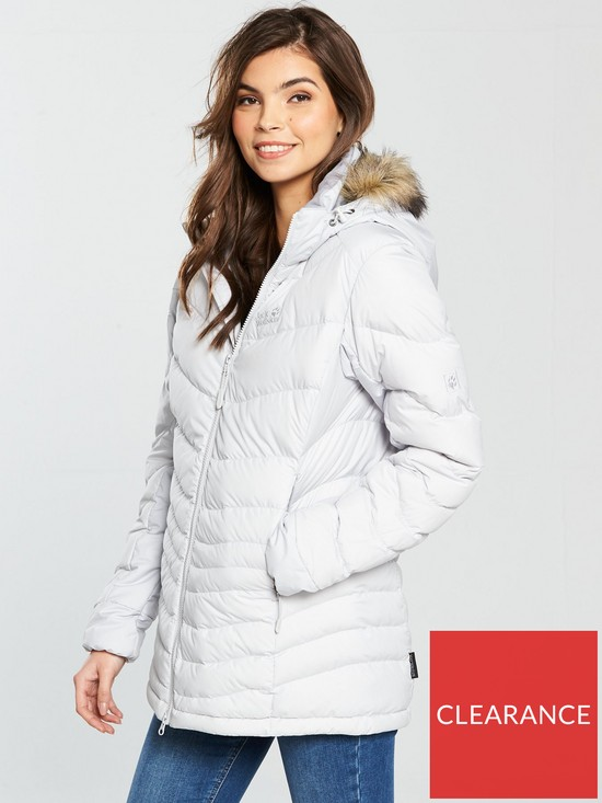 c4dacebe1c Jack Wolfskin Selenium Bay Parka - Grey | very.co.uk