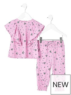 river-island-mini-mini-girls-pink-floral-frill-top-outfit