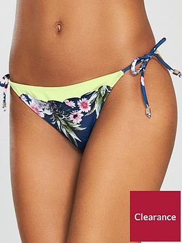 river-island-river-island-scallop-printed-tie-side-bikini-brief--blue