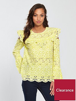 river-island-broderie-blouse--yellow