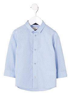 river-island-mini-mini-boys-light-blue-polka-dot-print-shirt