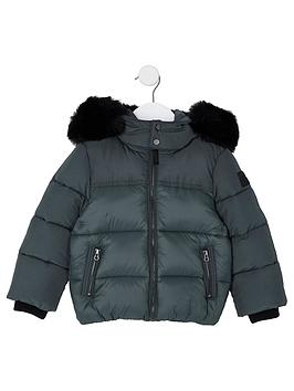 river-island-mini-boys-green-faux-fur-hood-padded-jacket