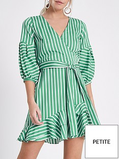 ri-petite-wrap-stripe-dress--green