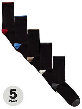 v-by-very-contrast-heel-amp-toe-5pk-socks