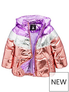 mini-v-by-very-girls-metalic-colourblock-paddednbspjacket