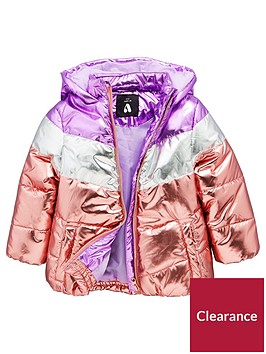 mini-v-by-very-girls-metallicnbspcolour-block-paddednbspjacket