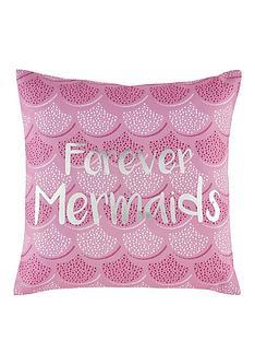 catherine-lansfield-mermaid-cushion