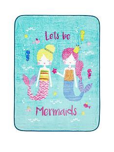 catherine-lansfield-mermaid-blanket