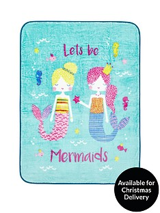 catherine-lansfield-mermaid-blanket