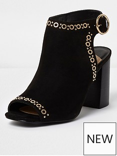 river-island-eyelet-shoe-boot-black