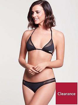 ellesse-mesh-panel-halter-neck-bikini-top-black