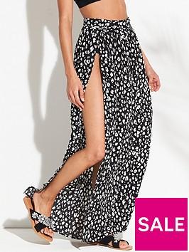 v-by-very-beach-tie-side-maxi-skirt-printed