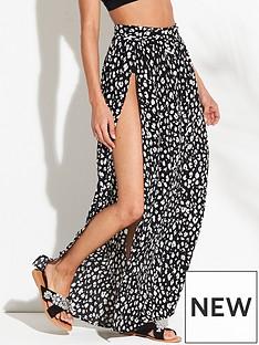 v-by-very-beach-wrap-maxi-skirt-printed