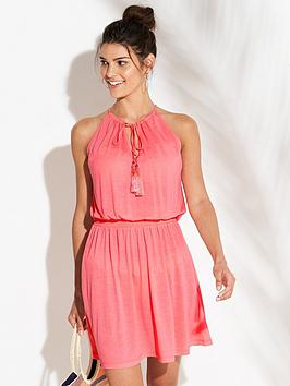 v-by-very-sheer-jersey-beach-dress-coral-pink