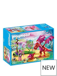 playmobil-playmobil-magical-fairy-forest-friendly-dragon-with-baby