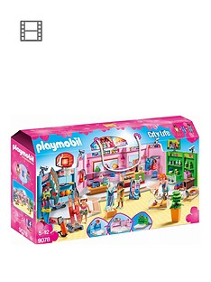 playmobil-9078-city-life-shopping-plaza-with-sports-pet-and-clothing-retailers