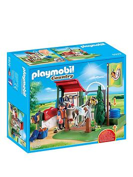 playmobil-horse-grooming-station