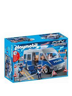 playmobil-policemen-with-van