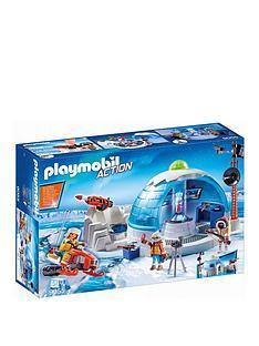 playmobil-arctic-expedition-headquarters