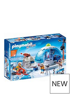 playmobil-arctic-expedition-headquarters
