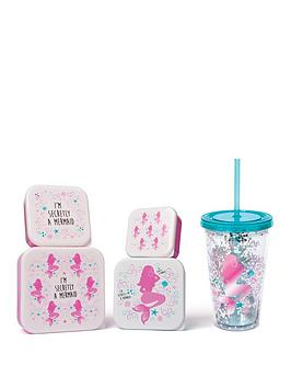 fizz-mermaid-glitter-straw-cup-and-lunch-boxes