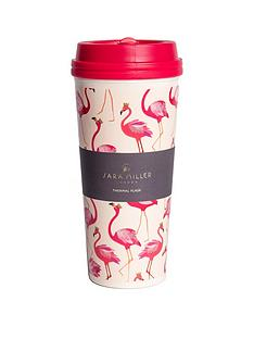 sara-miller-flamingo-travel-mug