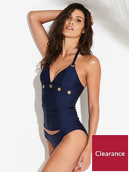v-by-very-eyelet-halter-neck-tankini-set-navy
