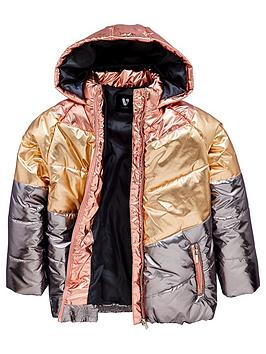 v-by-very-girls-colourblock-metalic-padded-coat