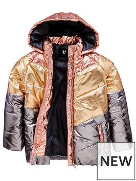 v-by-very-girls-colourblock-metalic-padded-coat