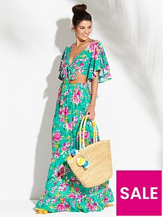 v-by-very-angel-sleeve-crop-top-and-maxi-skirt-beach-co-ord-set-floral