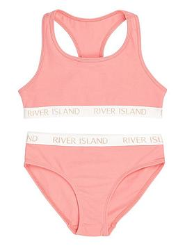 river-island-girls-pink-branded-crop-top-amp-briefs
