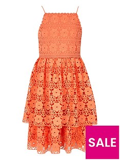 river-island-girls-orange-tiered-frill-lace-dress