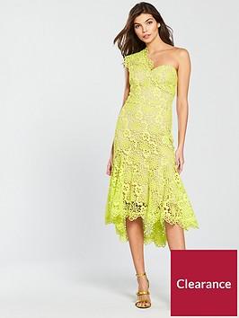 karen-millen-bi-colour-chemical-lace-dress-lime