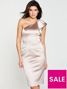 karen-millen-one-shoulder-dress