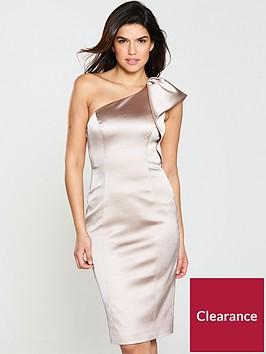 karen-millen-one-shoulder-dress