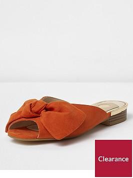 river-island-backless-peep-toe-sandals-orange