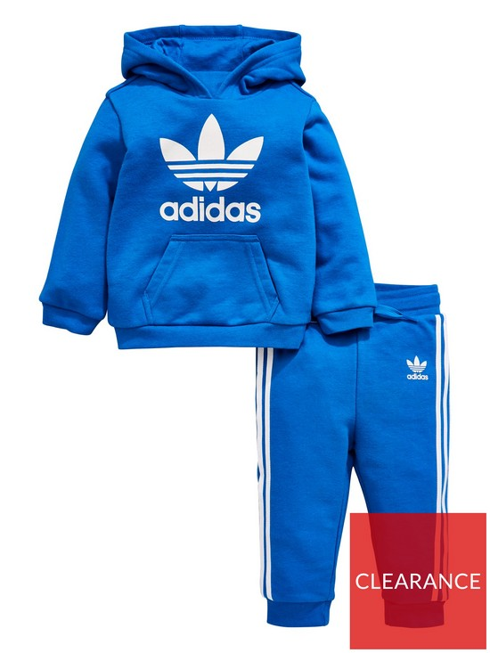 adidas Originals Baby Boys Trefoil Tracksuit - Blue  67277a1ed932