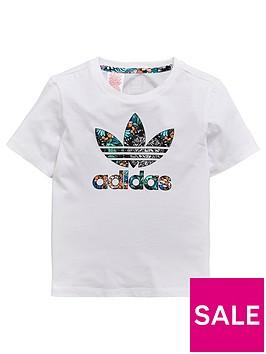 adidas-originals-younger-girls-zoo-tee-whitenbsp